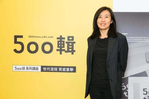 文化內容策進院院長胡晴舫應邀出席500談首場講座。 圖/陳立凱拍攝