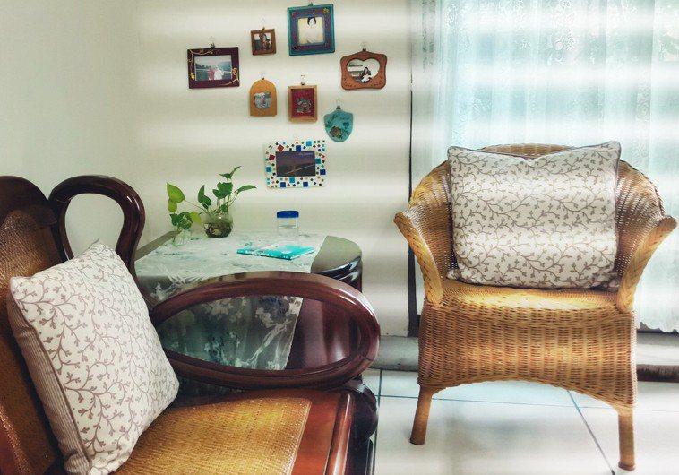 動手改造居家布置,也能小兵立大功,營造出清涼一夏的感覺。圖/譚暎芬提供