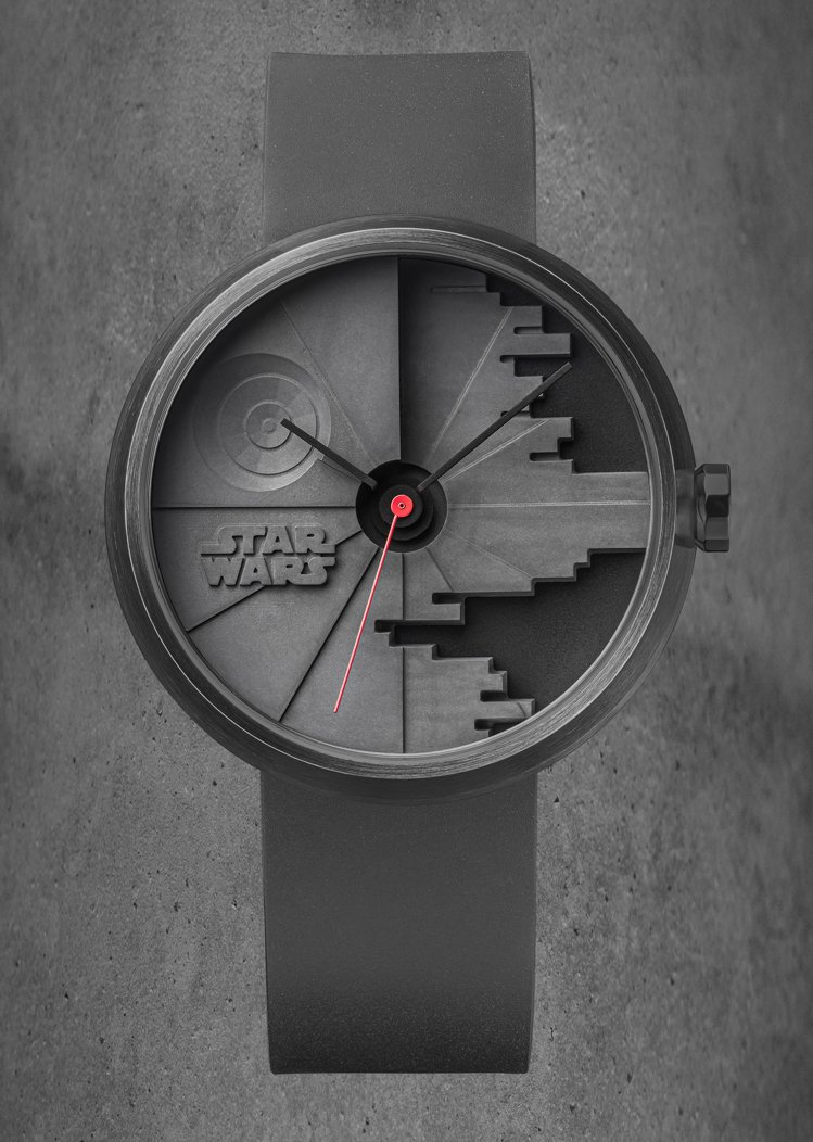 22STUDIO,死星二代限量腕表,42.5毫米,石英機芯,精鋼PVD黑色處理,...