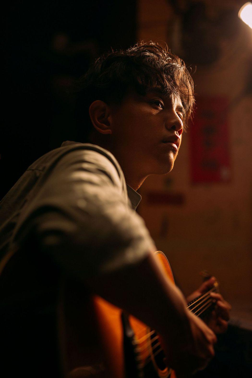 楊肅浩現在沒有心儀對象。圖/典選音樂提供