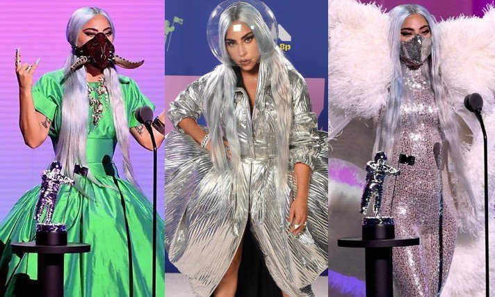 「2020 MTV音樂錄影帶大獎」登場,Lady Gaga入圍9項,用連換9套造...