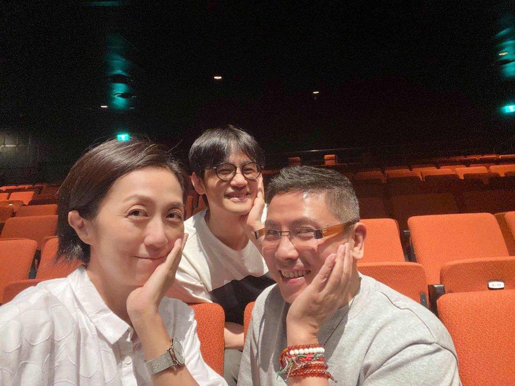 郭蘅祈(右起)、陳建騏(左)、黃韻玲是「愛之日常音樂節」的固定班底。圖/愛之日常...