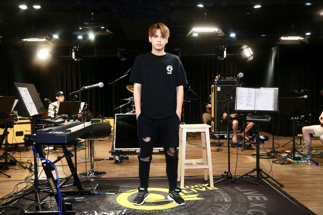 陳零九將在「天生玩家」演唱會演唱許多經典歌曲。記者林伯東/攝影