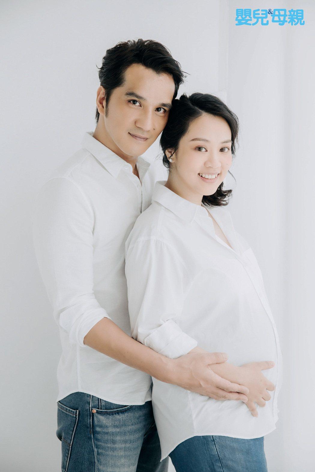 馬志翔(左)與老婆即將迎接新生命。圖/嬰兒與母親提供
