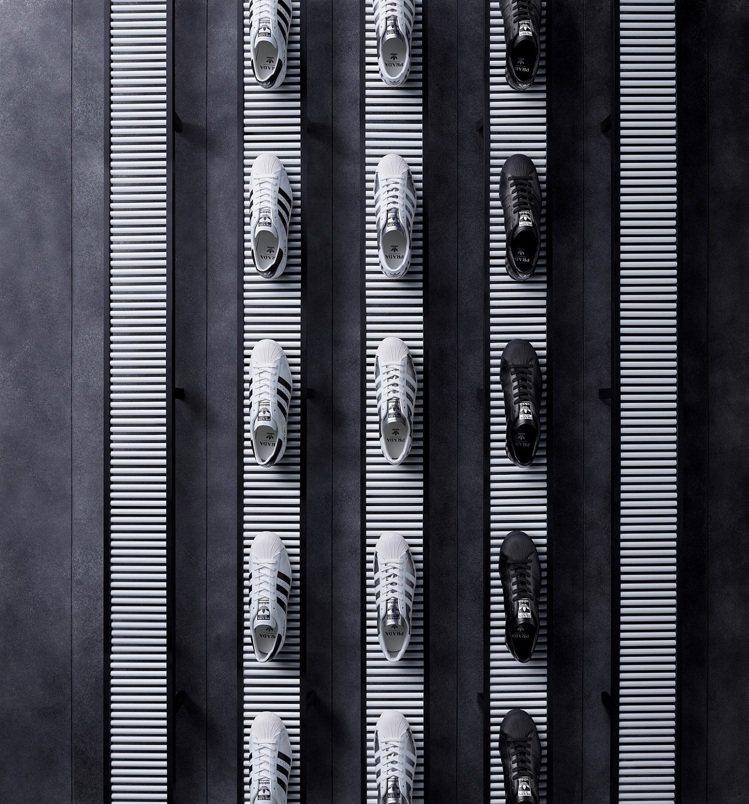 PRADA和adidas Originals的第二波聯名系列曝光。圖/PRADA...