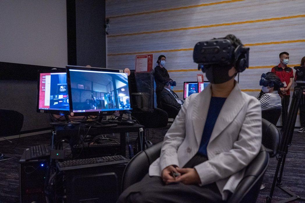 第77屆威尼斯影展VR單元在台北連續11天的展映。圖/HTC VIVE ORIG