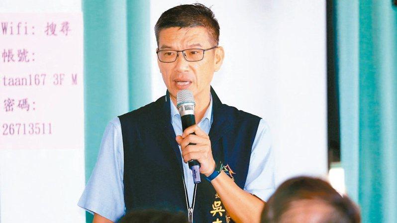 台中市環保局長吳志超請辭獲准。圖/台中市政府提供