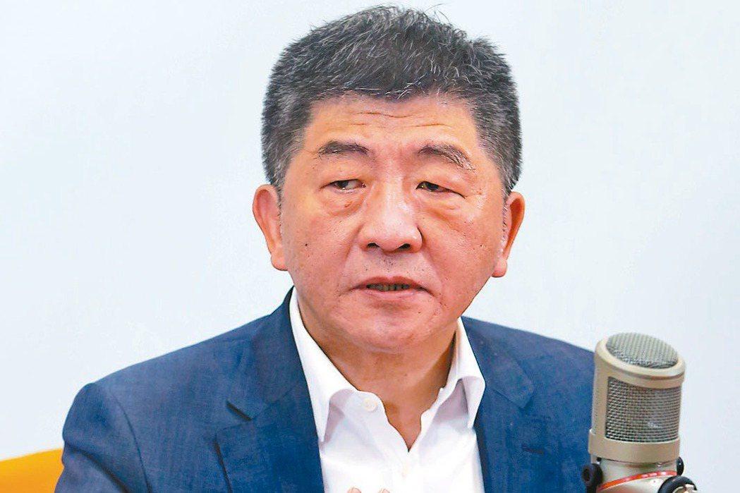 衛福部長陳時中。記者季相儒/攝影