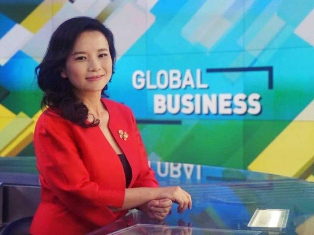 成蕾是中國官媒在英語世界——特別是澳洲——的當家主播之一。 圖/Cheng Le...