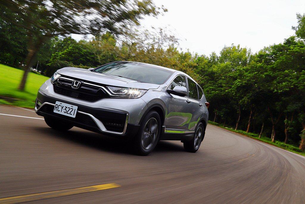小改款Honda CR-V將於9月3日在台灣正式發表。 圖/本報資料照片