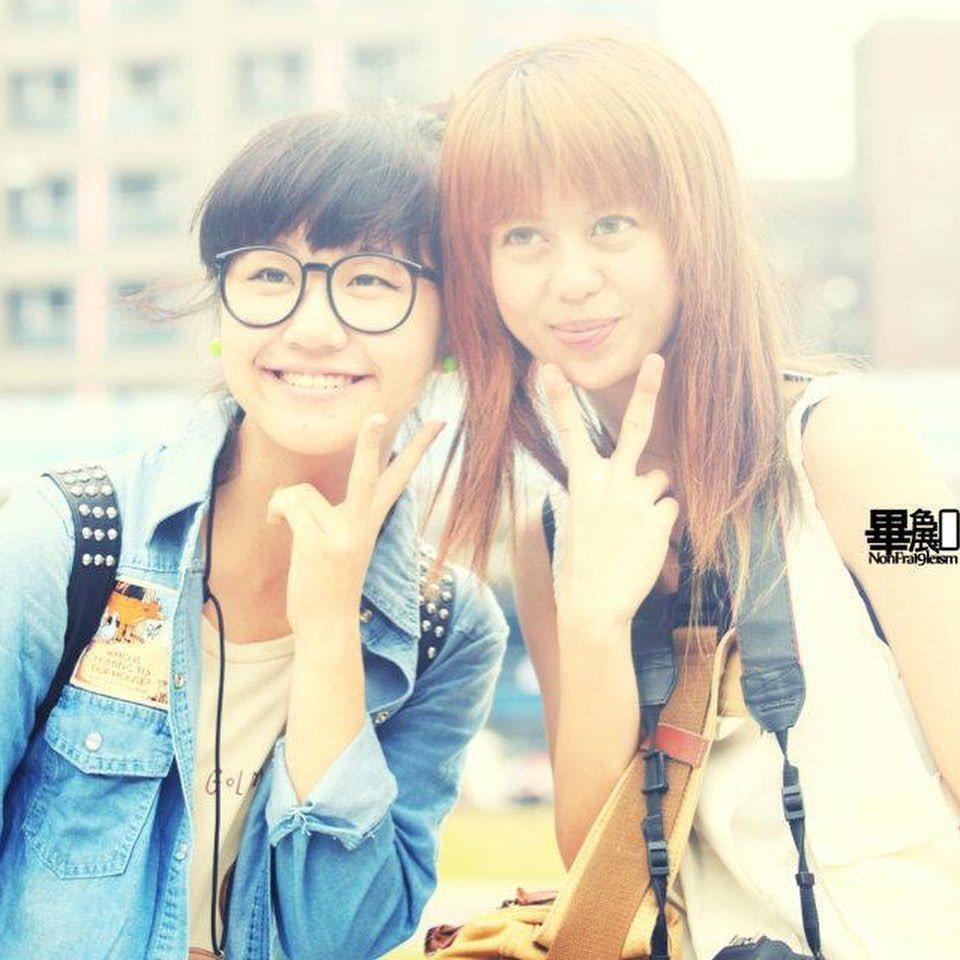 Lulu與白癡公主是大學同學。 圖/擷自白癡公主IG