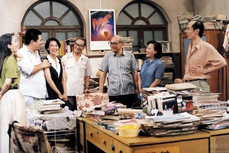 《編輯部的故事》(1992)劇照。 圖/豆瓣