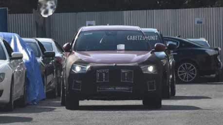 Levante的新夥伴 疑似Maserati的全新小休旅被拍到了!