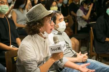 社會學者李明璁提問,唐鳳:感覺四面楚歌的時候,我會戴上VR前往國際太空站