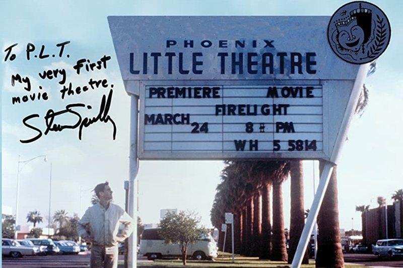 史匹柏的第一部劇情長片《Firelight》(1964),他父親包下鳳凰城的戲院讓電影風光首映。 圖/IMDb