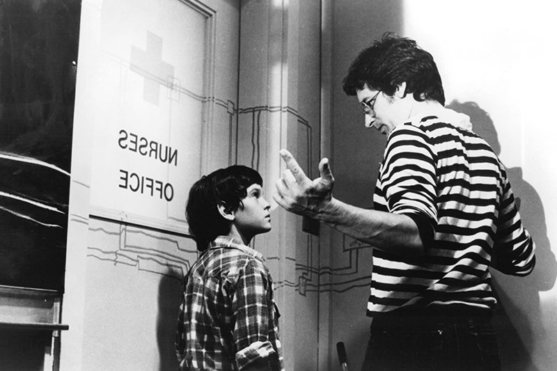 史蒂芬史匹柏與《E.T.外星人》(E.T. the Extra-Terrestrial, 1982)主角男孩。 圖/IMDb