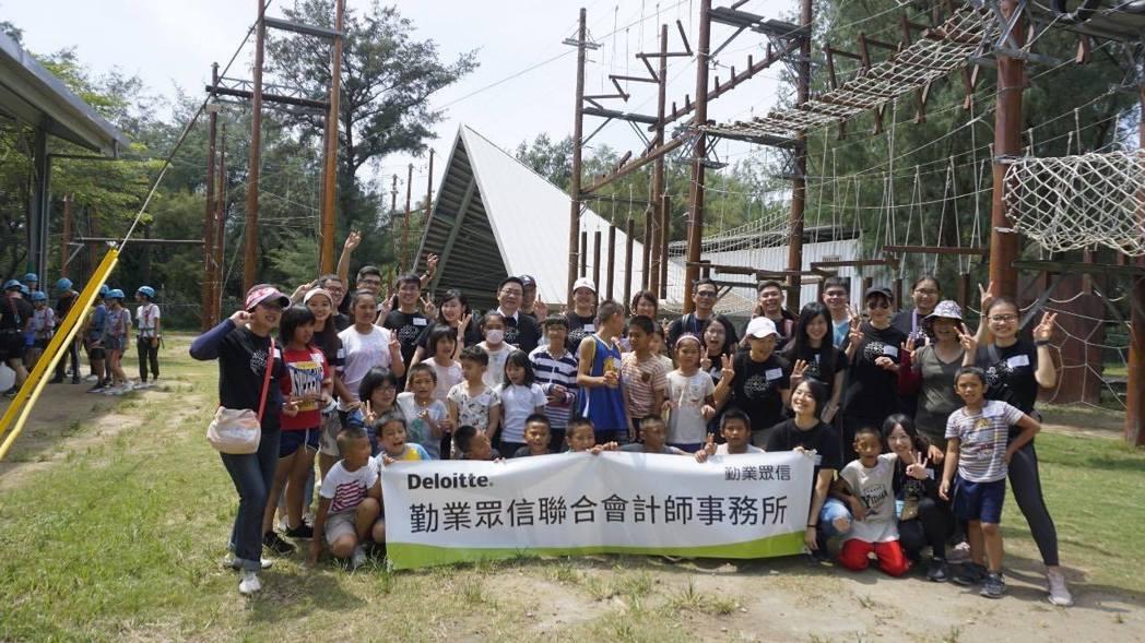 勤業眾信8月24日至26日舉辦「第七屆志工社夏令營」,由超過廿位會計師及同仁組成...