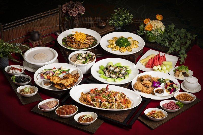 北投麗禧溫泉酒店推出春酒尾牙方案,頂級方案18,800元的精緻桌菜。 業者/提供