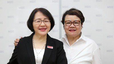 帆宣董事長高新明(左)與台灣女董事協會理事長蔡玉玲是超級好朋友。台灣女董事協會9...