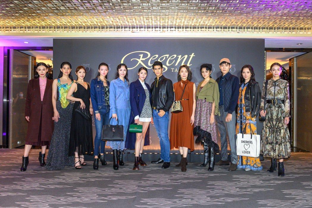 麗晶之夜展演頂級時尚華服年度大秀。晶華酒店提供