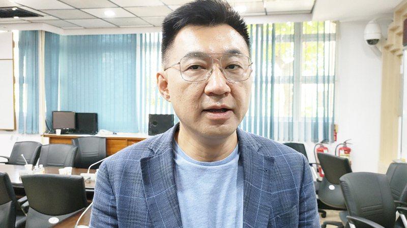 國民黨主席江啟臣。記者羅紹平/攝影