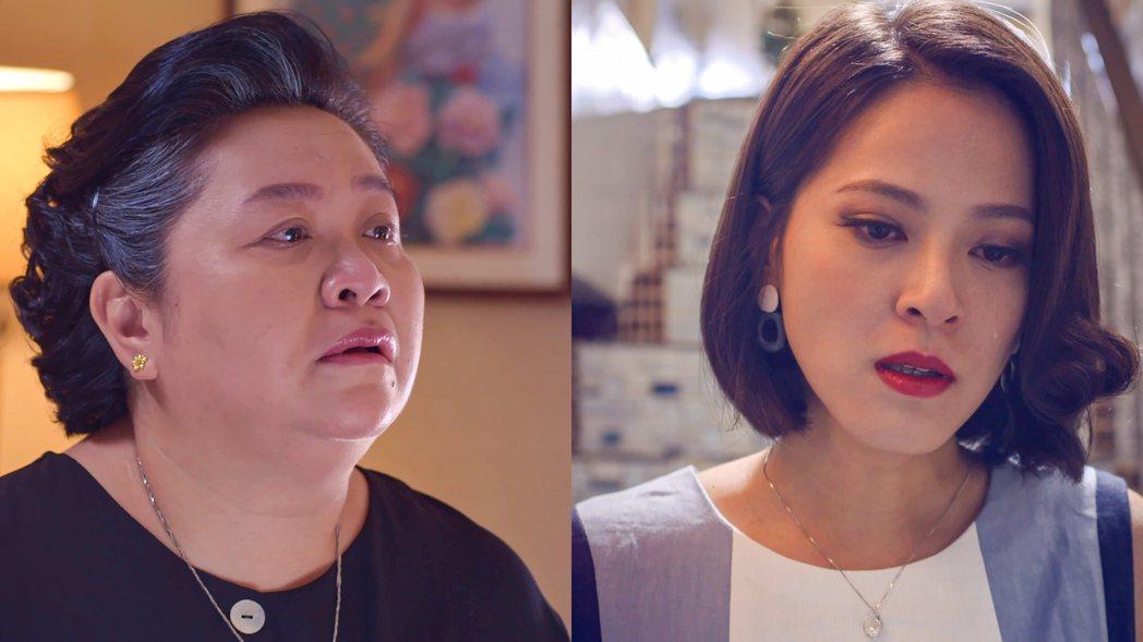 鍾欣凌(左)與蘇晏霈母女對峙。圖/公視提供