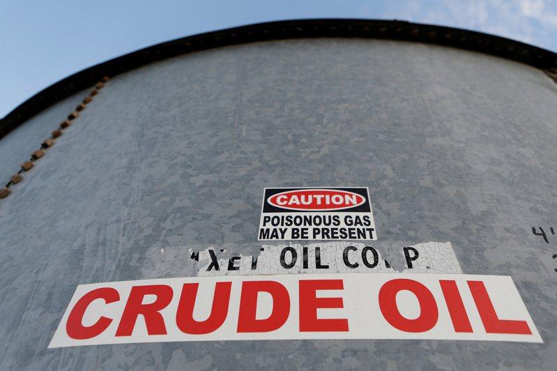 國際油價周一收跌。(路透)