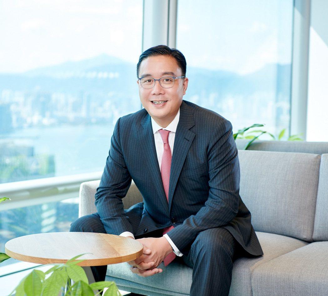 安盛投資管理董事總經理暨亞洲區銷售及市場主管林忠漢。圖/富盛投顧提供