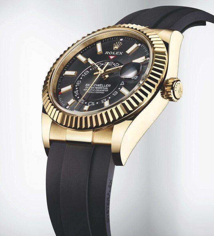 ROLEX,Oyster Perpetual Sky-Dweller腕表,黃金,...