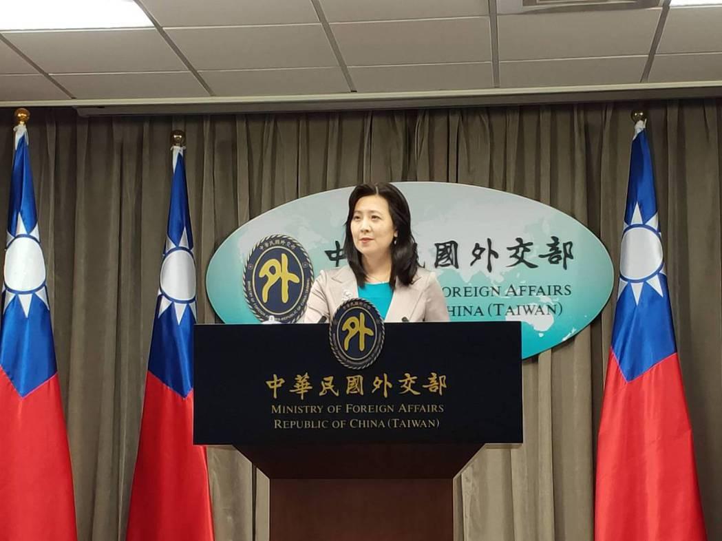 外交部發言人歐江安。記者徐偉真/攝影