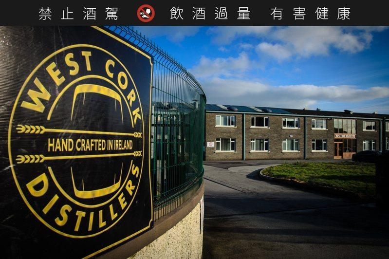 威斯克蒸餾廠位於愛爾蘭西科克市,酒廠名字即以城市命名。圖/陸海洋行提供。提醒您:禁止酒駕 飲酒過量有礙健康。