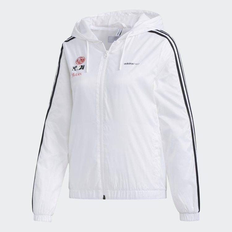 adidas NEO花木蘭聯名系列夾克3,090元。圖/adidas NEO提供