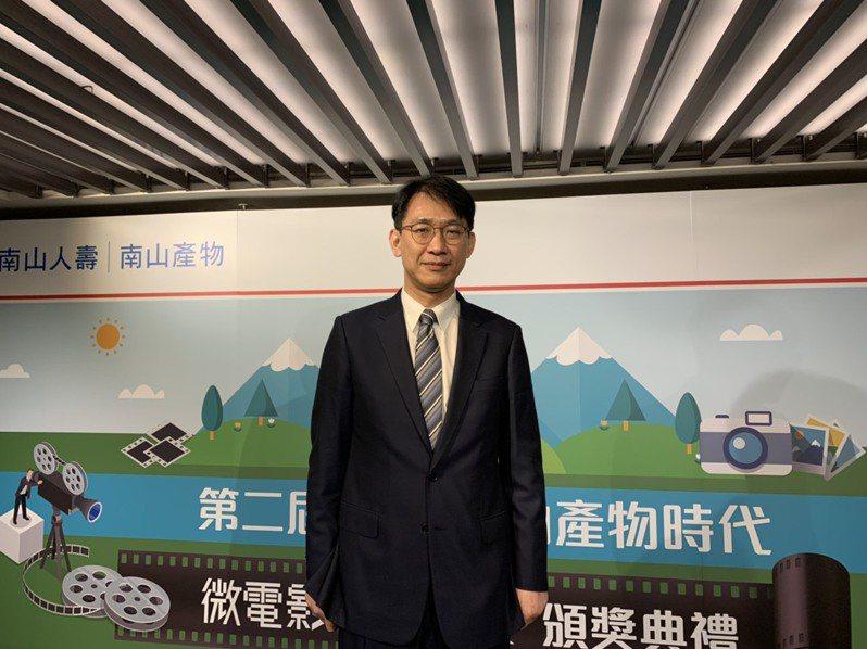 南山產物代理董事長蔡漢凌表示,疫情影響國人無法出國,旅行平安險受到較大衝擊。圖/仝澤蓉攝影