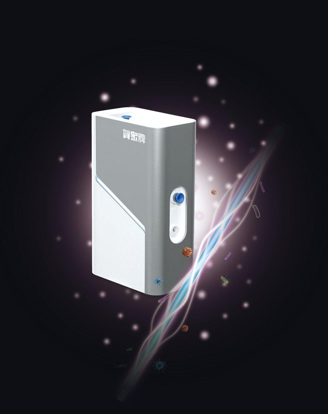 賀眾牌推出UVCLED極效殺菌模組UV-2200JS,訴求「低耗能殺菌.效能不衰...