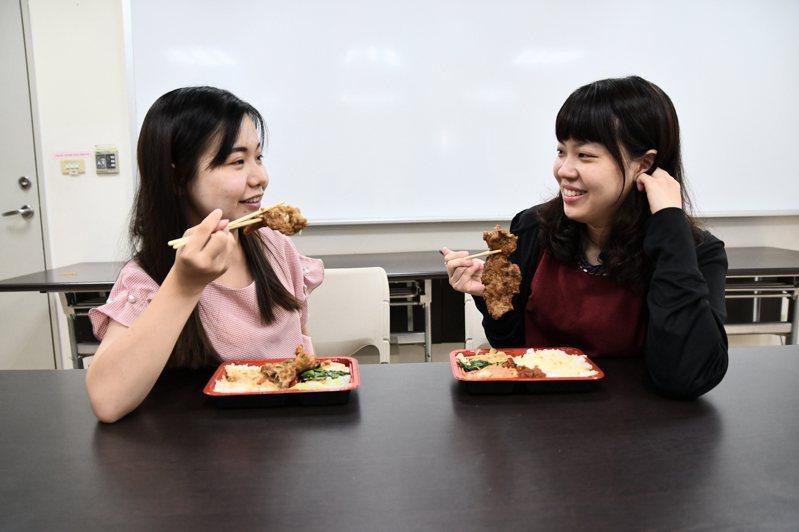 營養師詹于萱建議,外食族每天應攝取3到5拳頭大小的蔬菜,均衡飲食才是王道。圖/衛福部台中醫院提供