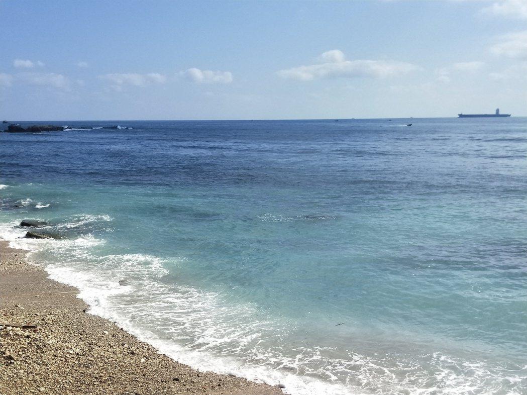 學者指出,台灣海平面上升速率約為全球平均1.5倍至2倍。 圖/游明煌攝影