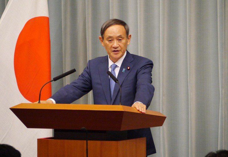 內閣官房長官菅義偉。圖取自菅義偉個人推特