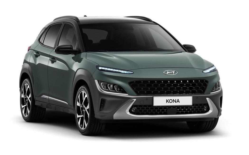 小改款Hyundai Kona新增了五種車身塗裝。 摘自Hyundai