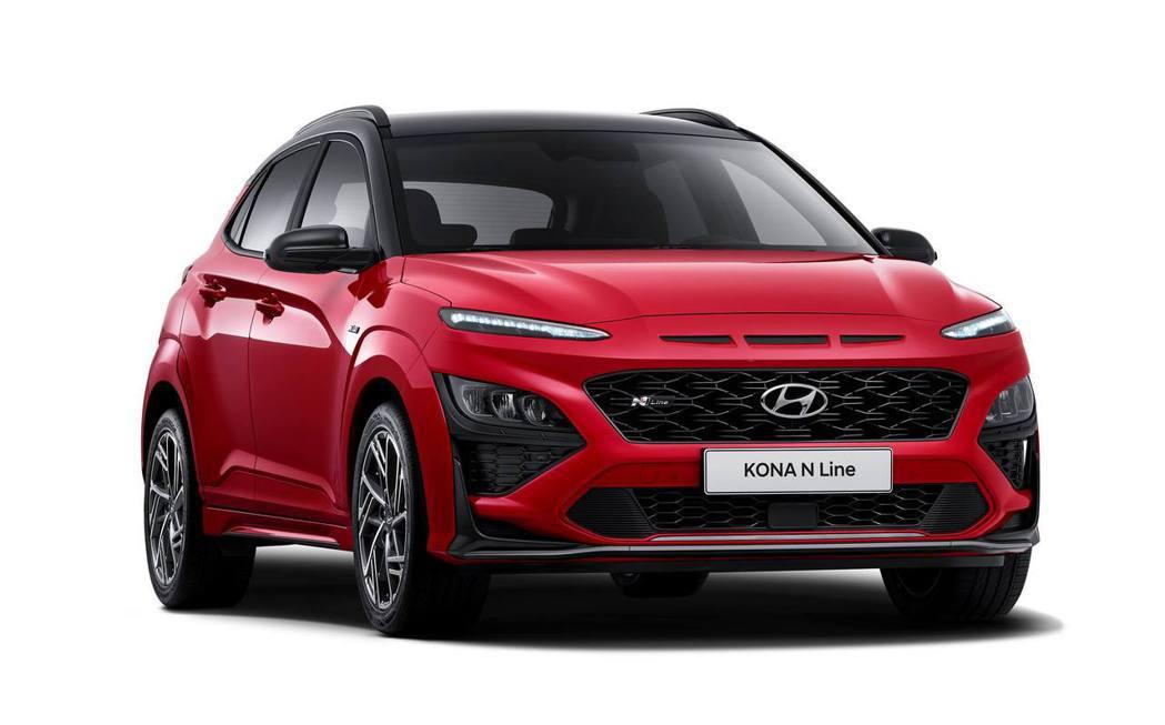 Hyundai Kona N Line。 摘自Hyundai