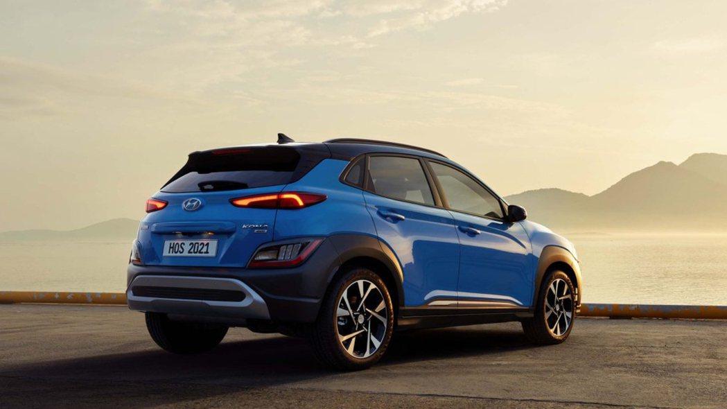 小改款Hyundai Kona。 摘自Hyundai