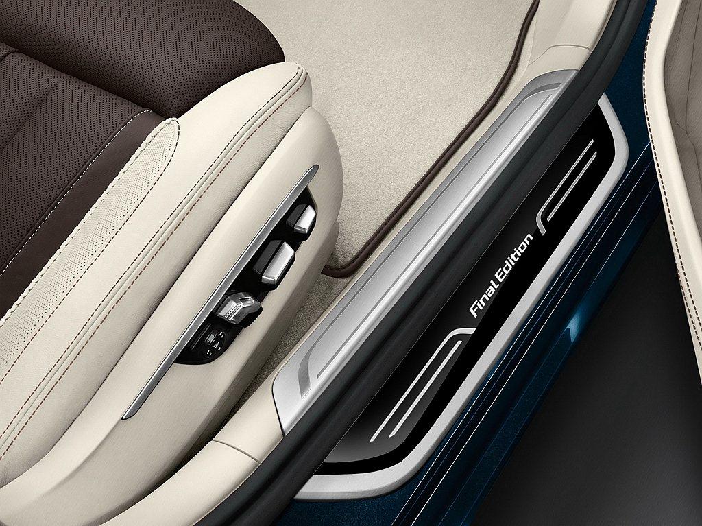 BMW X5/X7 M50d Final Edition最終版外觀擁有專屬M P...