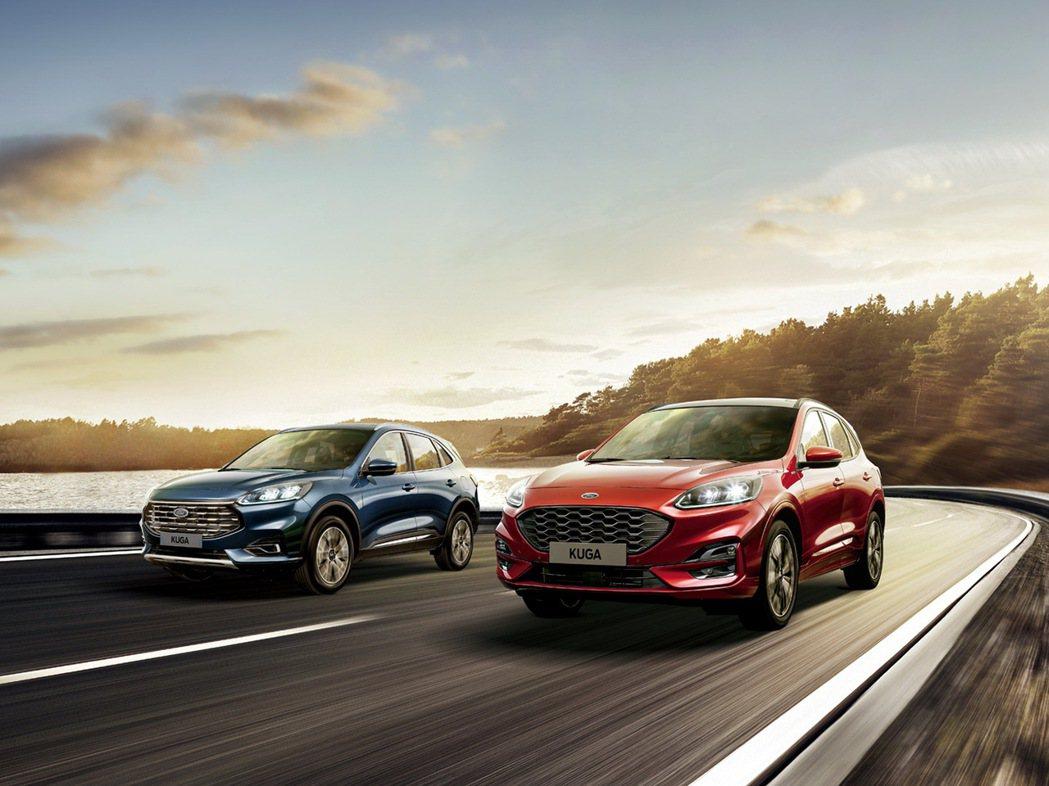 Ford Kuga引領純正運動跑旅市場新熱潮,創接單及銷量新高。 圖/福特六和提...