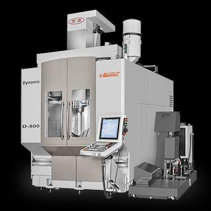常銘實業「常準Maximart」高階五軸加工中心機D-800機型,完美呈現加工美...