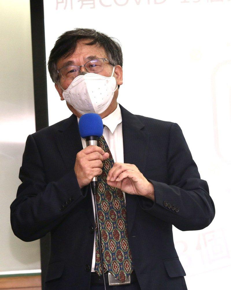 台大公衛教授陳秀熙說明。 圖/聯合報系資料照片