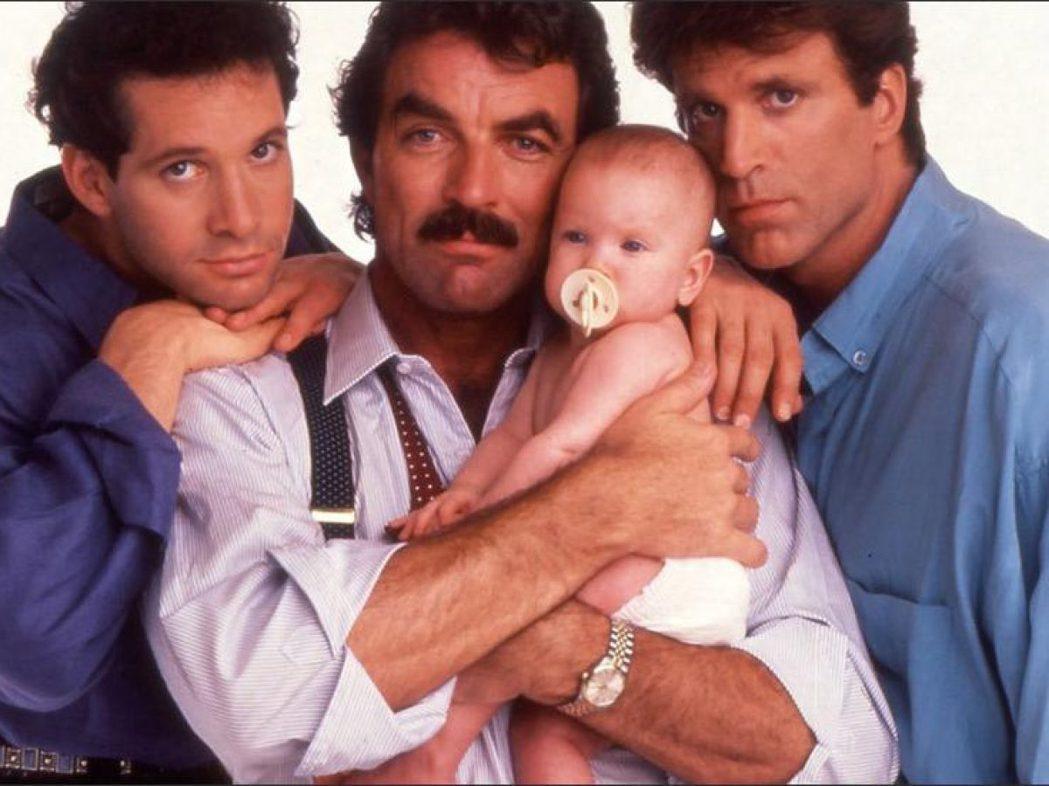 「三個奶爸一個娃」曾是美國年度最賣座的強片。圖/摘自imdb