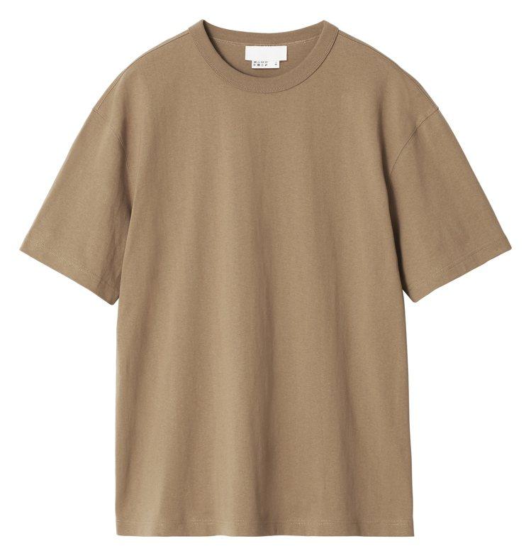 Blank Staples系列T恤499元。圖/H&M提供
