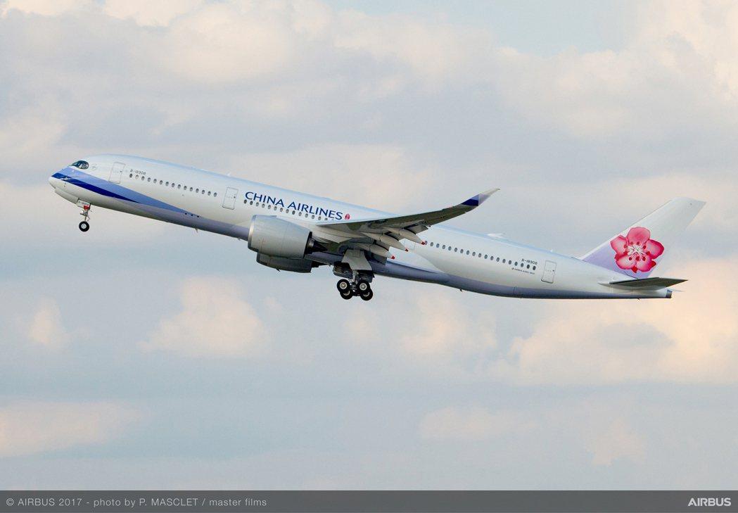 華航10月起北美、東南亞及日韓航線增加載客航班服務。 圖/華航提供