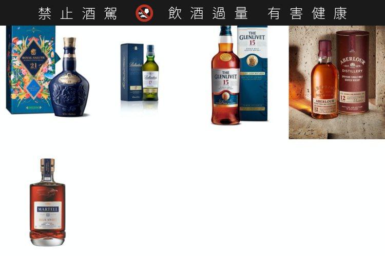 2020年保樂力加共推出5款中秋禮盒。圖/保樂力加提供。 ※ 提醒您:禁止酒駕...