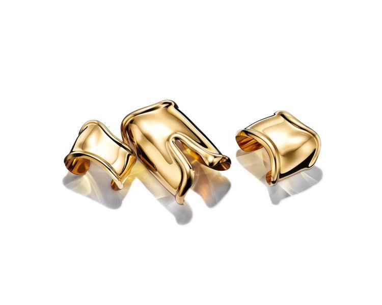 Tiffany & Co. Elsa Peretti 18K金 one Cuff...