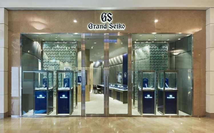 Grand Seiko在臺北的地標「臺北101大樓」中,打造了品牌全球第10間旗...